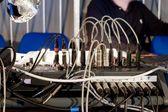 Audio Mixing Board — Stock Photo