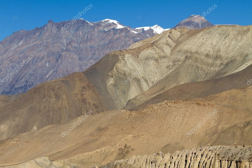Beautiful annapurna mountain landscape in Nepal  Stock Photo #13378597