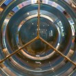 Lighthouse fresnel lens — Stock Photo
