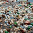 Plastic bottle pollution - Stock Photo