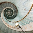 Stock Photo: High lighthouse stairs