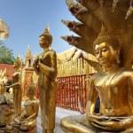 Golden buddha statue — Stock Photo #13381825