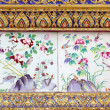 Thai pattern and paintings — Stock Photo