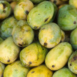 Stock Photo: Mangoes at market