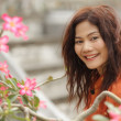 Asian woman beauty — Stock Photo