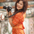Pretty thai woman — Stock Photo