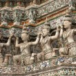 Thai buddhist sculpture — Stock Photo