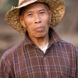 Asian farmer portrait - Stock Photo