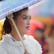 Stock Photo: Thai woman in traditional clothes