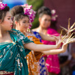 Traditional thai dancers - Stock Photo