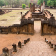 Stock Photo: Old khmer ruins