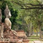 Old buddha statue — Stock Photo #13382748