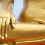 Golden buddha detail — Stock Photo #13382859