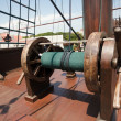 Galleon vessel detail - Stock Photo