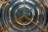 Lighthouse fresnel lens — Stock Photo