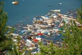 Water pollution — Stock Photo