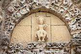 Old church sculpture — Stock Photo