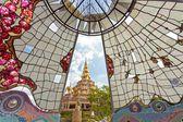 Colorful buddhist temple — Stock fotografie