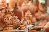 Thai traditional earthenware — Stock Photo
