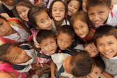 Asian kids group — Stock Photo