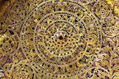 Asian glass mosaic — Stock Photo