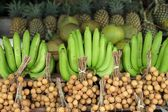 Tropical fruits — Stockfoto
