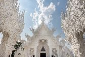 Fairy white temple — Stock Photo