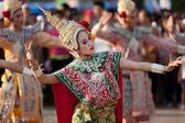 Thai dancers — Stock Photo