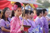 Traditional thai festival — Stock Photo