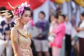 Thai traditional festival — Stock Photo