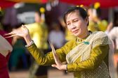 Traditional thai dancer — Stock Photo