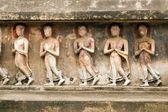 Alte buddhistische skulptur — Stockfoto