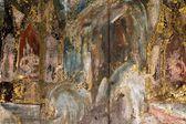 Sehr alte religiöse Malerei — Stockfoto