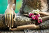 Buddha statue detail — Stock Photo