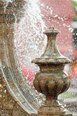 Détail fontaine de ville — Photo