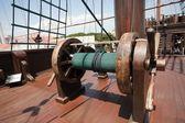 Galleon vessel detail — Stock Photo