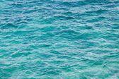 Turquoise sea background — Stock Photo