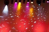 Colorful scene spotlights — Stock Photo