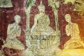Old Buddhist paintings — Stock Photo
