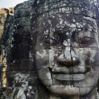 Angkor giant faces — Stock Photo