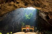 Temple in cave — Stock Photo