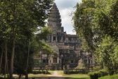 Angkor wat north door — Stock Photo