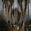 Stock Photo: Church organ