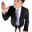 Strict businessman — Stock Photo