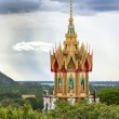 Stock Photo: Buddhist temple spire