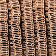 Stack of unused roof tiles — Stock Photo #30397359