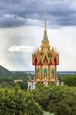 Buddhist temple spire — Stock Photo
