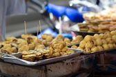 Fried bananas — Stock Photo