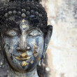 Buddha head detail — Stock Photo