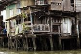 Shanty house in Bangkok — Stock Photo